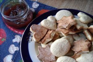 Печенье и джем
