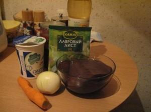 печень в соусе