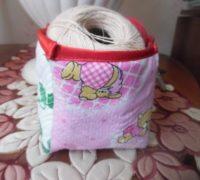 текстильная коробка